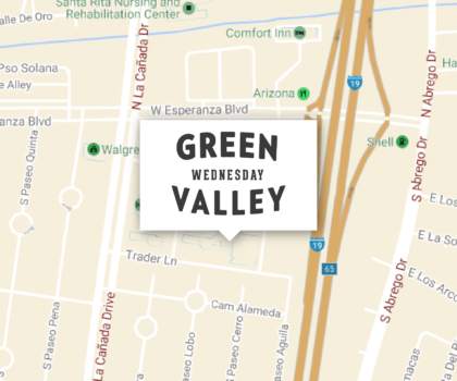 WEDNESDAYS <em>Green Valley</em>